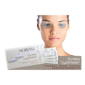 Norvell Sunless Eyeshields Pouch