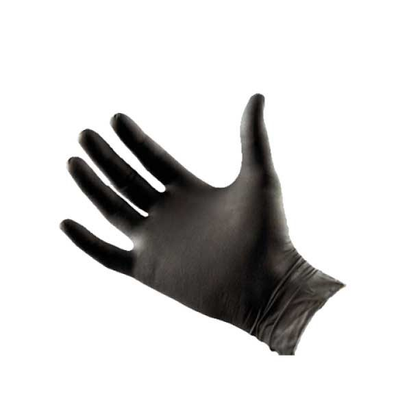 Technician Black Latex Gloves