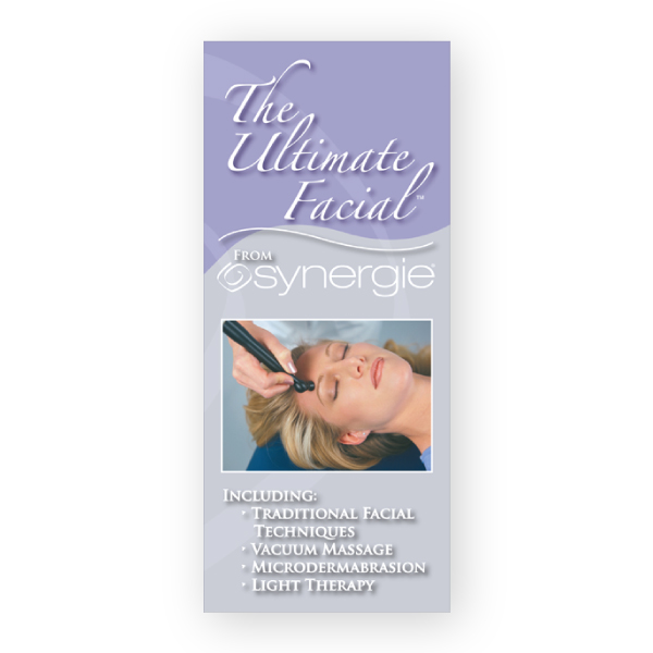 Synergie Microdermabrasion Facial Client Tri Fold Brochure