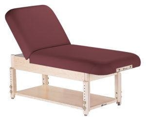 EARTHLITE SEDONA TILT STATIONARY MASSAGE TABLE Shelf