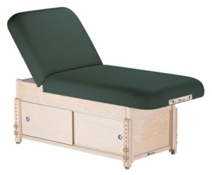 EARTHLITE SEDONA TILT STATIONARY MASSAGE TABLE Cabinet