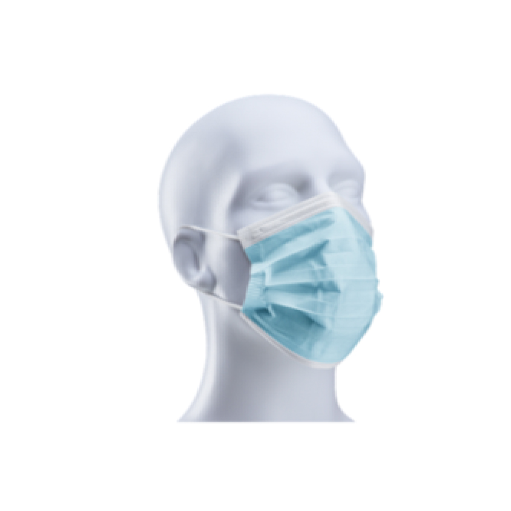 3 ply Disposable Mask with Ear Loops
